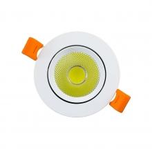 Светильник LED OEM DL-7W-R-COB 7Вт круглый 6000K белий