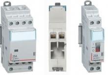 Импульсные реле CX³ и модульные контакторы