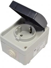 Выключатели и розетки серии «ФОРС» IP54